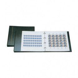 Album Safe pour 20 feuilles entières de timbres 320 x 330 mm.