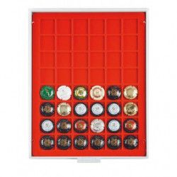 Box pour 48 muselets de champagne collection.
