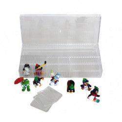 Box de collection modulable pour miniatures, figurines.