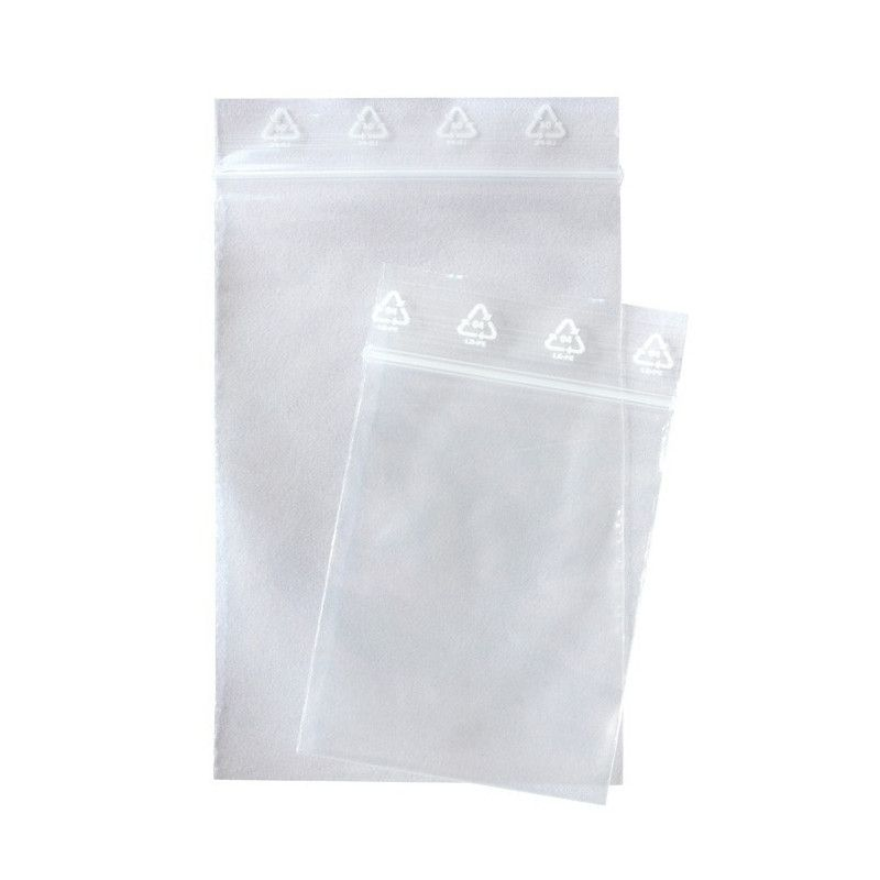 Sachets multi-usage 120 x 170 mm avec fermeture zip.