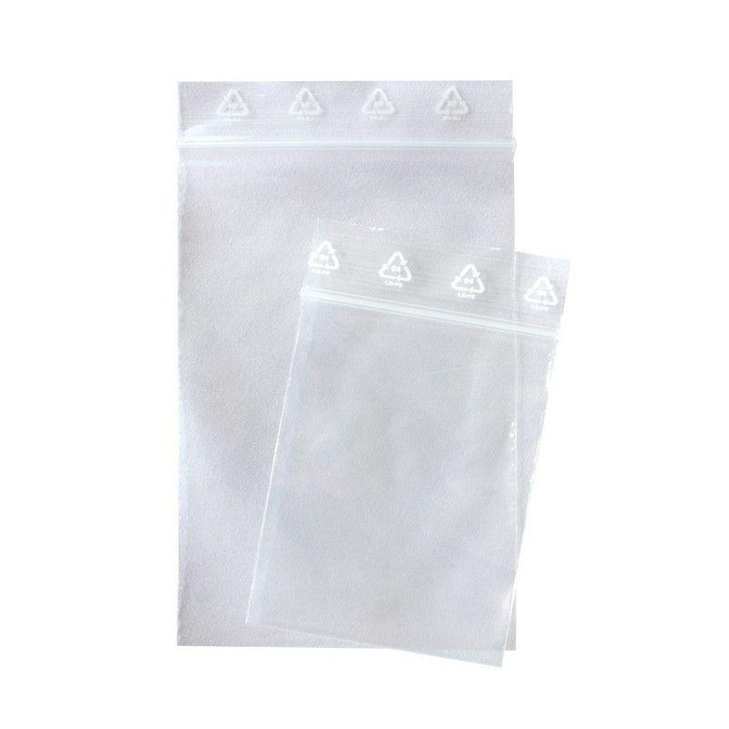 Sachets multi-usage 180 x 250 mm avec fermeture zip.