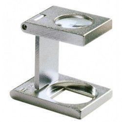 Compte-fils Eschenbach en métal grossissement 12 x.