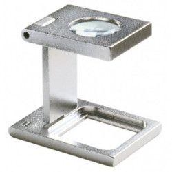 Compte-fils Eschenbach en métal grossissement 10 x.