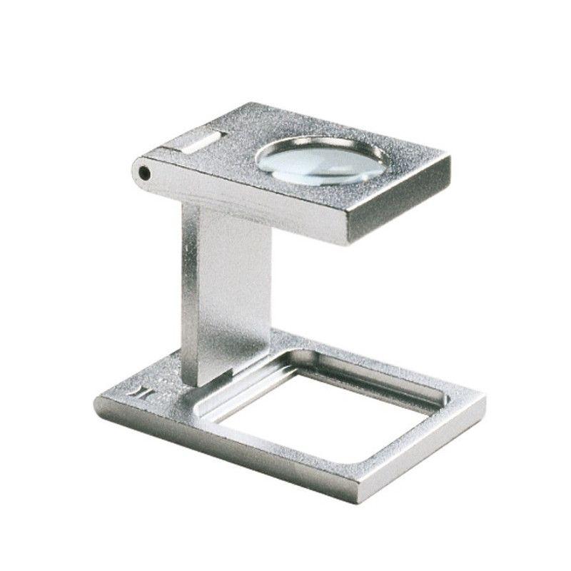 Compte-fils Eschenbach en métal grossissement 8 x.