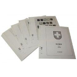 Feuilles pré imprimées Lindner-T Suisse 1938-1959.
