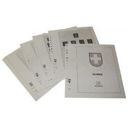 Feuilles pré imprimées Lindner-T Suisse 1960-1967.