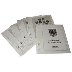 Feuilles pré imprimées Lindner-T Deutsches Reich 1923-1933.