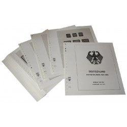 Feuilles pré imprimées Lindner-T Deutsches Reich 1933-1945
