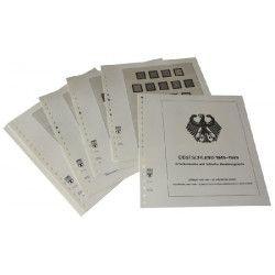 Feuilles pré imprimées Lindner-T Allemagne Occupation Interalliée 1945-1949.