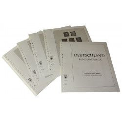 Feuilles pré imprimées Lindner-T République Fédérale Allemagne 1949-1959.