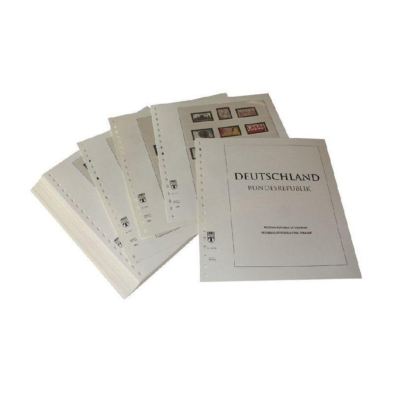Feuilles pré imprimées Lindner-T République Fédérale Allemagne 1990-1994.