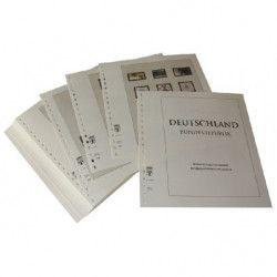 Feuilles pré imprimées Lindner-T République Fédérale Allemagne 2000-2004.