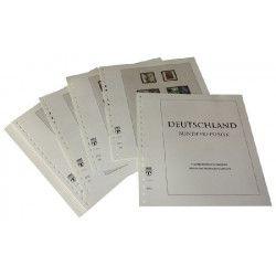 Feuilles pré imprimées Lindner-T République Fédérale Allemagne 2005-2009.