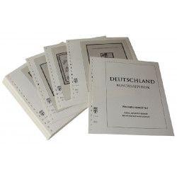 Feuilles pré imprimées Lindner-T Allemagne Pages-Souvenirs 1989-2004.