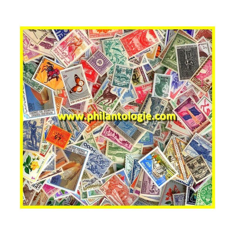 Communauté Francaise timbres de collection neufs tous différents.