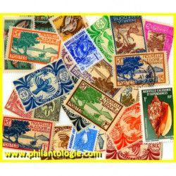 Nouvelle Calédonie timbres...