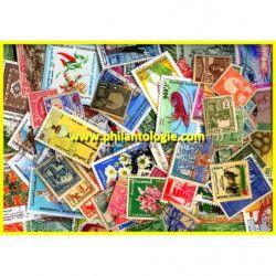 Tunisie timbres de collection tous différents.
