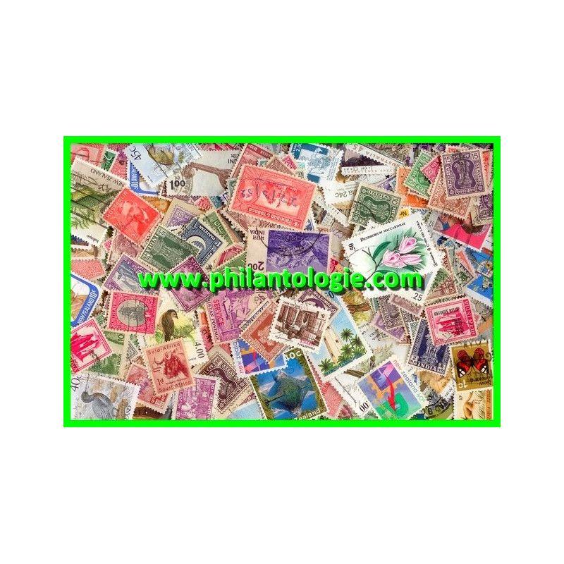 Empire Britannique timbres de collection tous différents.