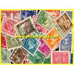 Lituanie timbres de collection tous différents.