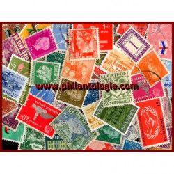 Colonies Néerlandaises timbres de collection tous différents.