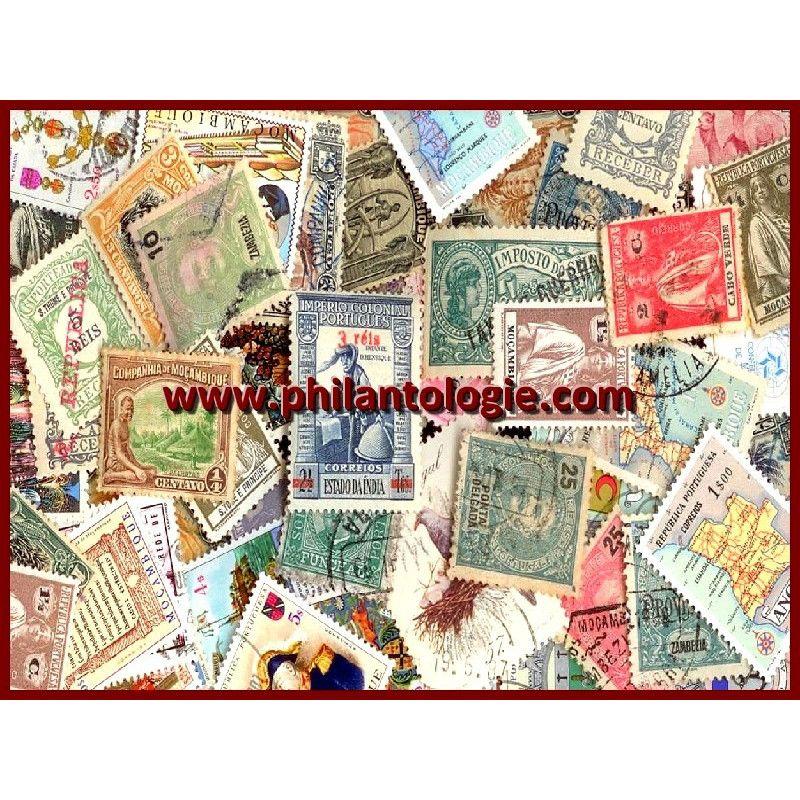 Colonies Portugaises timbres de collection tous différents.