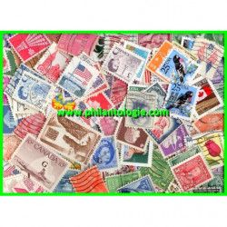 Amérique du Nord timbres de collection tous différents.