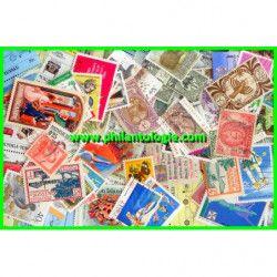 Océanie timbres de collection tous différents.