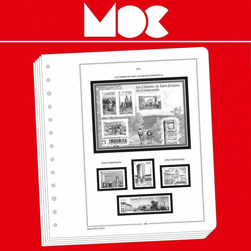 Moclair intérieur Andorre Français 1931-1989.