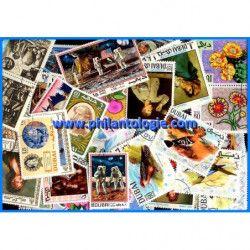 Dubaï timbres de collection tous différents.