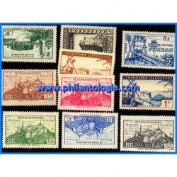 Fezzan Ghadamès 10 timbres...