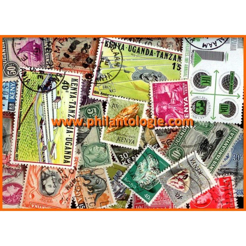 Kenya timbres de collection tous différents.