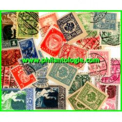 Lettonie timbres de collection émis avant 1940.