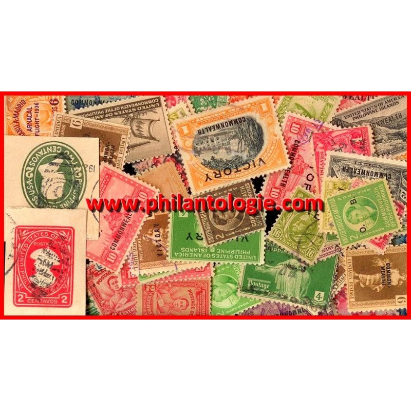 Philippines administration US timbres de collection.