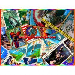 Mission Apollo timbres thématiques tous différents.