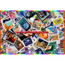 Cosmos - Espace timbres thématiques tous différents.
