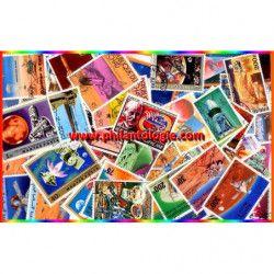 Mars timbres thématiques tous différents.