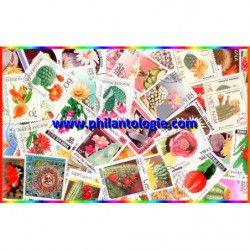 Cactus timbres thématiques tous différents.