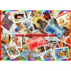 Christophe Colomb timbres thématiques tous différents.