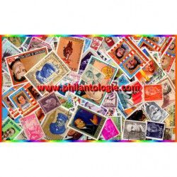 Chefs d'États 100 timbres...