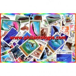 Animaux Polaires timbres...