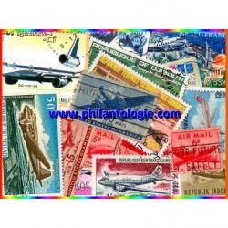 Avions DC 15 timbres...