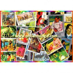 Gauguin 25 timbres...