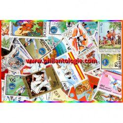 Arts Martiaux timbres thématiques tous différents.