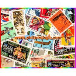 Armes 25 timbres thématiques tous différents.