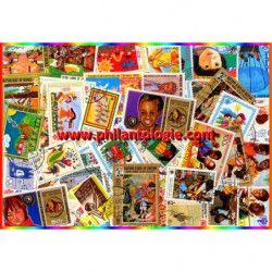 Enfance timbres thématiques tous différents.