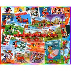Mickey 100 timbres...