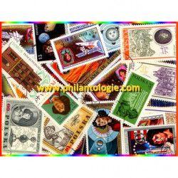 Copernic timbres thématiques tous différents.