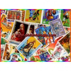 Noel timbres thématiques tous différents.