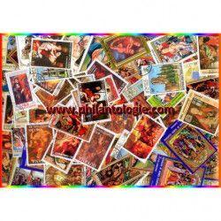 Religion timbres thématiques tous différents.