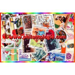 Baseball 25 timbres thématiques tous différents.